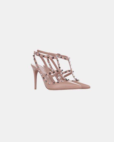 Stumped Heel Stiletto - Pink